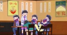 おそ松さん 第2期 第21話「 深夜の日松屋 」「 BANANA 」「 ニート矯正施設 」【感想コラム】