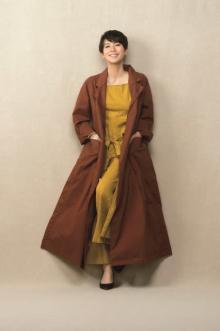 中谷美紀、新作春服をまとって輝く美貌 生き方のこだわりも語る