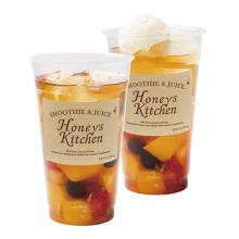 蜂蜜漬けのフルーツがゴロゴロ♡ベキュアハニーマルシェの期間限定メニューは食べ応え満点のアイスティー