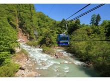 新緑を満喫!苗場スキー場の日本最長ゴンドラが春季も営業