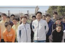 青学陸上部寮母・原美穂さんが「キッチン泡ハイター」新CMに登場