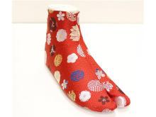 見た目も、はき心地も、美しい!「西陣織足袋」発売