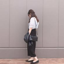GUで人気の「サロペットワイドパンツ」は着まわし力抜群♡おしゃれさんに学ぶ5daysコーデ