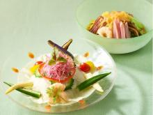 夏のさっぱり新メニュー「五目涼麺」&「夏野菜たっぷり涼麺」