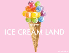 SNS映え必至♡TOKYO ICECREAM LAND×Mel CAFEが原宿に限定オープン