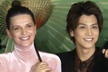 岩田剛典、女優ジュリエット・ビノシュは「フランスのお母さん」