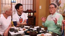 杉浦太陽、佐野史郎、祐真キキがロケ「本音でハシゴ酒」のお店紹介in神楽坂