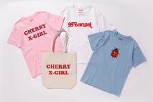 "X-girlとVanna Youngsteinが初コラボ!""CHERRY X-GIRL""のロゴTがかわいい♡"