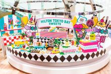 ヒルトン東京ベイ史上最多メニューが登場♡カラフルスイーツ満載の夏限定デザートブッフェ