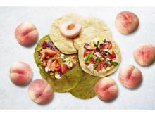 桃のピッツァやかき氷も!桃を食べつくすスイーツブッフェ
