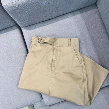 今週のGU新作は、夏でもしっかり使える上品見えな「チノグルカミディスカート」がおすすめ♡