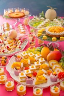 マンゴー&ピーチ&メロン♡女子の欲望を満たしてくれそうなニューオータニ大阪のスイーツビュッフェ!
