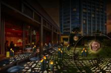 東京タワーを見上げながら夕涼み♩ザ・プリンス パークタワー東京に期間限定の夜カフェがOPEN☆