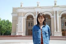 前田敦子、ウズベキスタンで主演映画撮影 黒沢清監督が絶賛「ものすごい女優が出現した」
