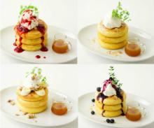 道玄坂で人気の「ミクロコスモス」直伝!ふわふわ厚手パンケーキが中目黒の姉妹カフェにお目見え♩