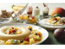 世界各地のスイーツ&サマーフルーツのデザートブッフェ開催
