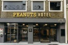 神戸「ピーナッツホテル」がいよいよOPEN!オリジナルグッズが1階カフェに続々お目見え♩