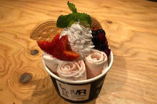 マンハッタンロールアイスクリーム原宿店で1周年記念♡8月21日先着100名限定でロールアイスが100円に!