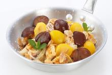 フレンチトースト専門店アイボリッシュに期間限定メニューが登場!お芋やリンゴ、栗など秋の味覚いっぱい♡