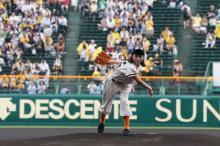 朝ドラヒロイン・安藤サクラ、甲子園で始球式 ノーバン投球「120点」