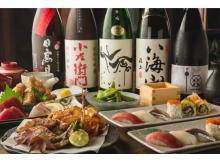 西麻布の屋上テラスで厳選日本酒と秋の味覚が味わえる!