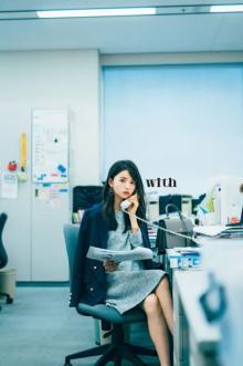乃木坂46・齋藤飛鳥「つれない新人OL」に コピーとりながら上司に悪態?