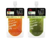 野菜ソムリエ監修!果汁と野菜汁100%のスムージーゼリー