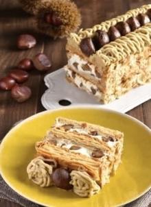 秋の味覚マロンづくし♡キハチ青山本店の季節限定パイ、ほっくり濃厚な『モンブランパイ』が新登場♩