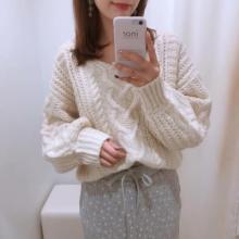 ハート編みがポイント♡2900円の破格プライスで手に入るナイスクラップの「ハートキュンニット」が話題!