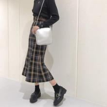 Heatherスタッフもリアル買い♡トレンドシルエットの「チェックセミフレアロングスカート」をご紹介!