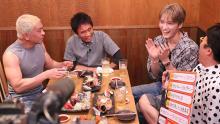 奥菜恵、ジェジュンがロケ「本音でハシゴ酒」のお店紹介in築地