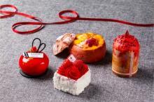 プチ贅沢なご褒美にピッタリ♩東京マリオットホテル5周年記念のスイーツ&ブレッドは鮮やかレッド♡