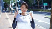 永島優美アナ「地元を走ることがこんなに楽しいなんて…貴重な経験でした!」