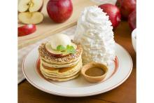"""エッグスンシングスに期間限定パンケーキが登場!サンクスギビングの定番デザート""""アップルパイ""""がモチーフ♡"""