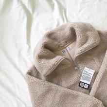 """秋冬コーデに1枚欲しい""""ボアアウター""""。ユニクロ ユーの「フリースブルゾン」の着まわしコーデをご紹介♡"""