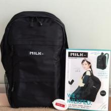 かわいい黒リュックがたったの2000円♡「MILKFED. BACKPACK BOOK」は売り切れる前にGETしよ♪