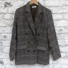 しまむらの高見えチェックジャケットが優秀♡#しまパト で見つけた2つのおすすめアイテムをピックアップ