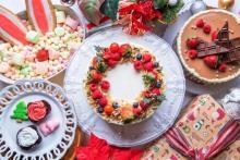 土曜日だけのお楽しみ♩池袋「アリスレストラン」のスイーツブッフェが期間限定でクリスマス仕様に♡