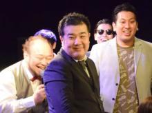 活動再開の堤下敦、地元・横浜でステージ復帰 キレキレツッコミも健在で「お笑いっていいですね」