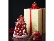 数量限定!甘酸っぱい苺でつくる真っ赤なクリスマスツリー