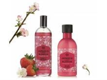 ボディショップから「日本の桜」をイメージした新商品が登場