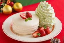 """エッグスンシングスに""""ショートケーキ""""がモチーフのパンケーキが登場!パーティーにぴったりなセットメニューも気になる"""