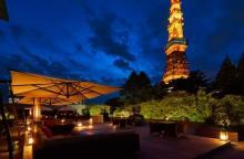 東京タワーが目の前♩東京プリンホテル、テラスで楽しむフォンデュセットが冬の女子会にぴったり♡