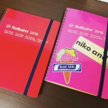 """来年に向けてそろそろGETしたい「スケジュール帳」。人気の""""Rollbahn""""に+1シールで自分流アレンジを♡"""