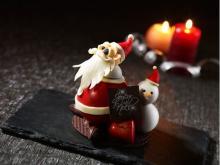 ギフトにも◎!お茶目なサンタ&可愛い雪だるまのチョコ細工