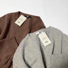 ユニクロの上質ニットはトレンド感ありの優秀アイテム♡ラムクルーネックセーターで作る、カラー別着回しコーデ
