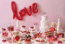名古屋の人はマストチェック!LOVEスイーツが大集合するバレンタインいちごブッフェがかわいすぎる♡