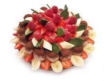 美しい!カフェコムサのフルーツたっぷりクリスマスケーキ