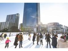 東京ミッドタウンに都内最大級の屋外スケートリンクが登場