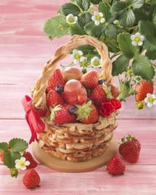 かご型パイ「いちご摘み」もお目見え♡リーガロイヤルホテル大阪「苺フェア」のラインナップが豊富すぎる♩